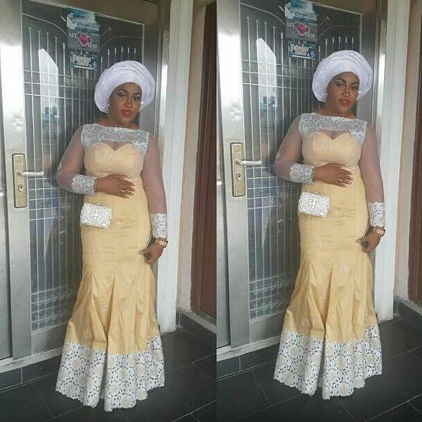 Sophisticated Nigerian Aso Ebi Styles - Amillionstyles @blessing_lee