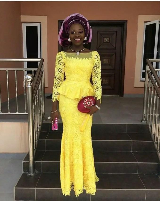 Sophisticated Nigerian Aso Ebi Styles - Amillionstyles @darling_onwubuya