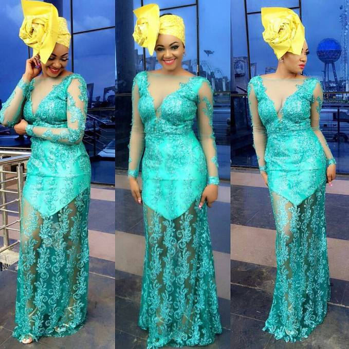 Sophisticated Nigerian Aso Ebi Styles - Amillionstyles @sophy_nene