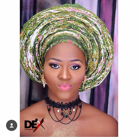 How To Rock Your Head Gear Popularly Known As Gele @dexmakeovers_cymbals