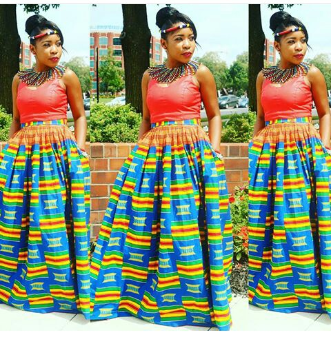 Amazing Ways To Rock Maxi Skirt Or Print Skirt amillionstyles @styleby_tsc