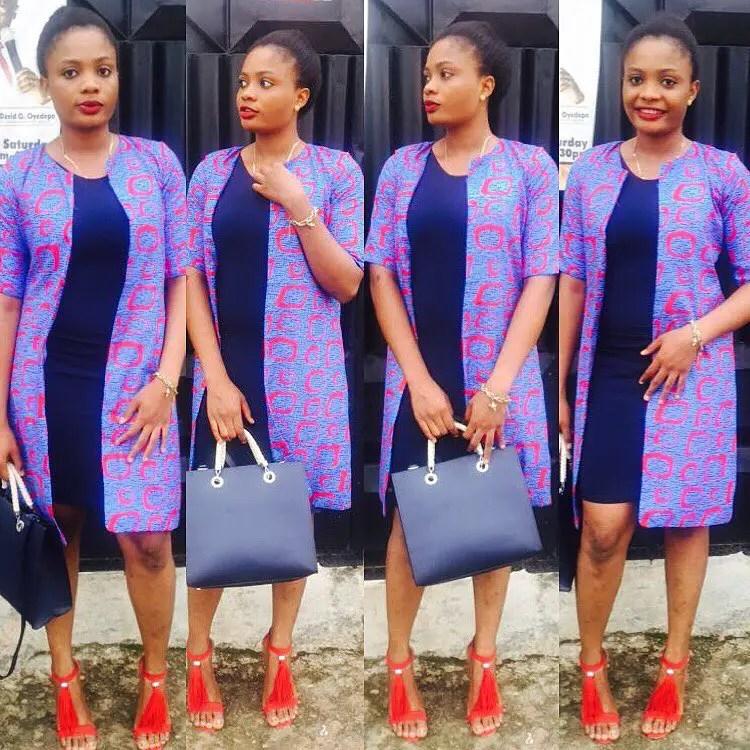 Fabulous Ankara Kimono Jacket You Should Try Amillionstyles Com