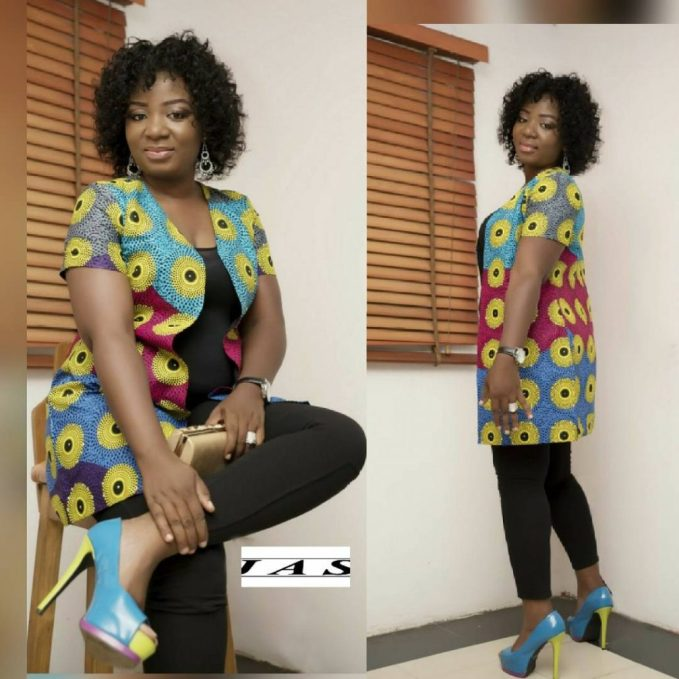 Fabulous Ankara Kimono Jacket amillionstyles @jasbeadsnjewels