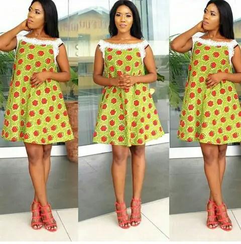Classy Ankara Dresses - amillionstyles @thatghanaian_diva