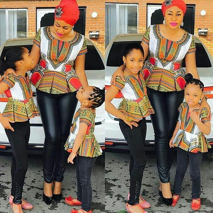 Mum And Daughter Outfits amillionstyles.com @bussykim
