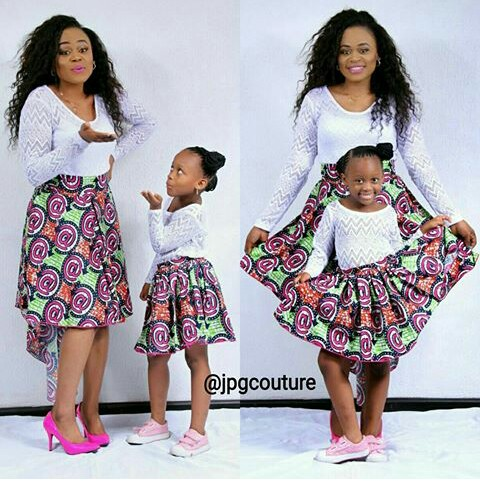 Mum And Daughter Outfits amillionstyles.com @stephluvee
