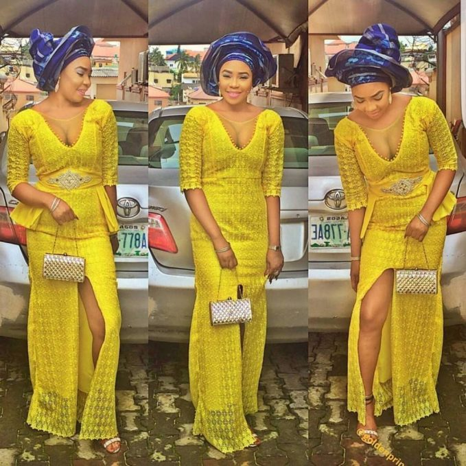 10 Breath Taking Asoebi Styles You Should Rock-amillionstyles @goldenprincess29