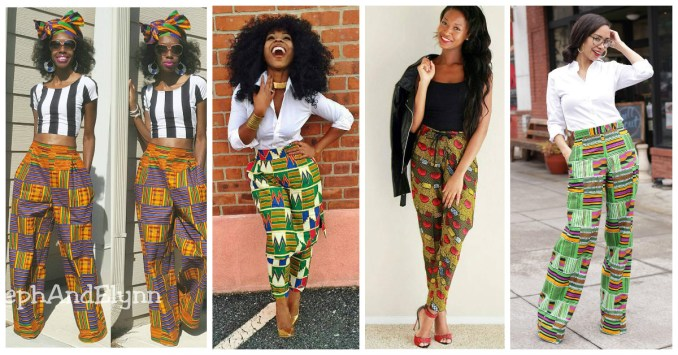 Colorful Ankara Pant amillionstyles.com cover