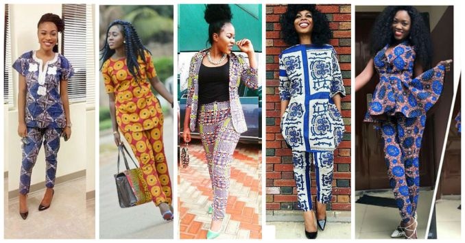 Delectable Trending Ankara Pants amillionstyles.com