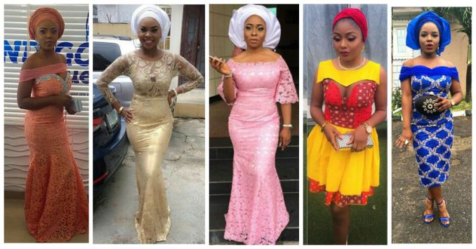 Latest Lace And Ankara Aso Ebi Styles amillionstyles 2016