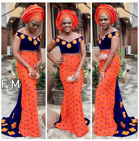 Mouth Watering Trending Asoebi Styles amillionstyles.com @flare_by_maylieta