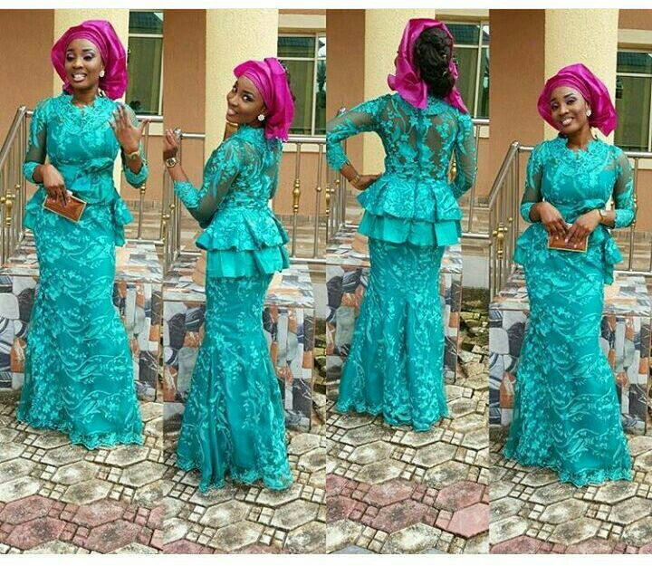 Mouth Watering Trending Asoebi Styles amillionstyles.com @liciousberrie