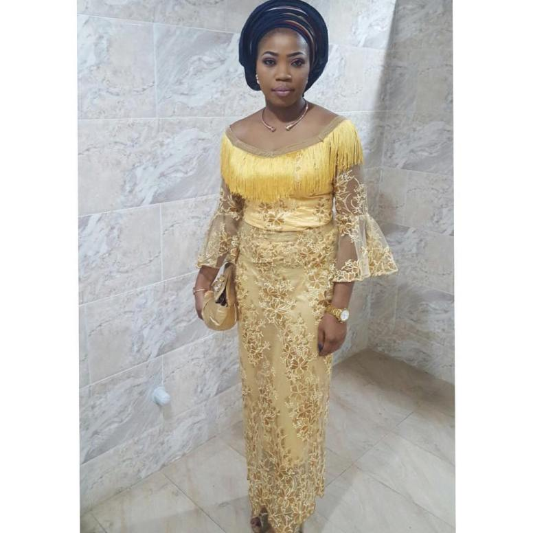 Check Out The MidWeek Sexy Aso Ebi Styles We Are Crushing On
