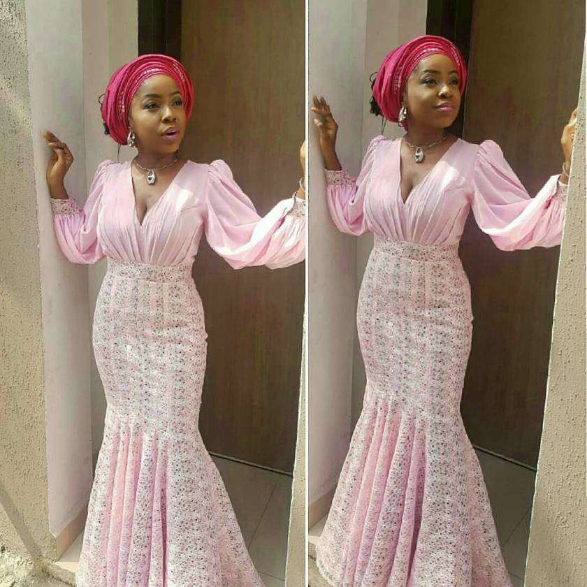 Latest Aso Ebi Styles We are Crushing On This Week