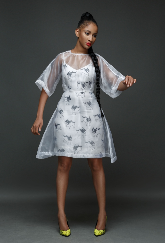 Actress Adesua Etomi Models The Wana Sambo 2017 Holiday Collection