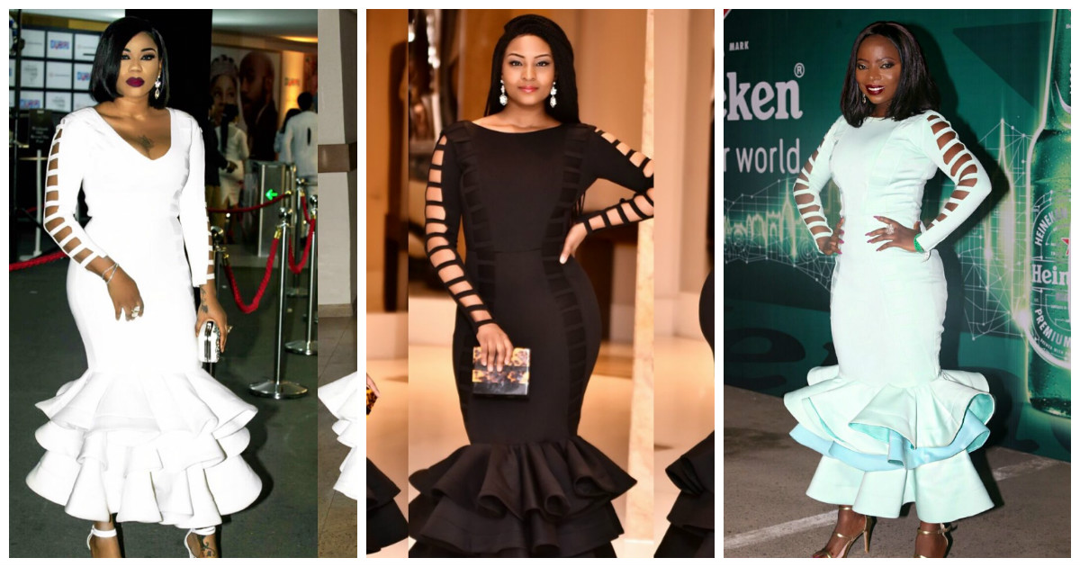 Toyin Lawani Osas Ajibade & Layole Oyatogun Slayed Elegante by Tiannahstyling.