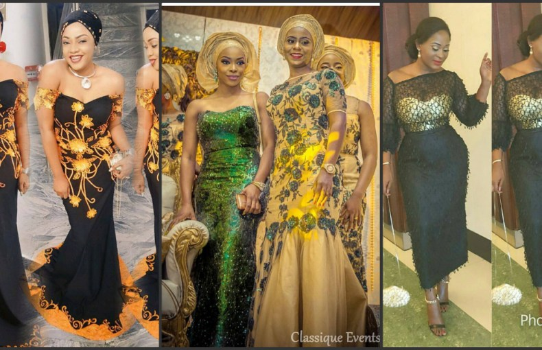 Glitz And Glamorous Aso Ebi Styles Slayed Over The Weekend