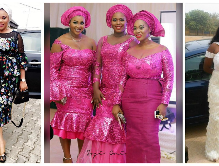 Check Out These Stunning Head Turning Plus Size Aso Ebi Styles