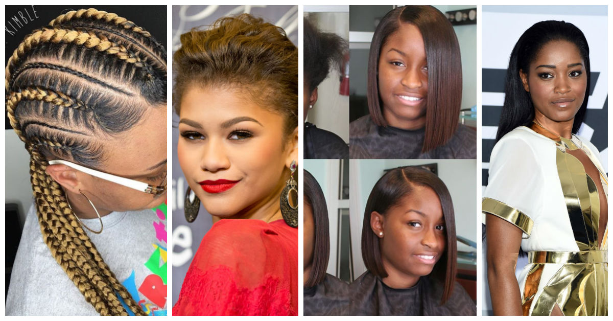 great hair styling options relaxed hair-amillionstyles