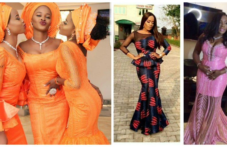 Check Out These Hot Sauce Aso Ebi Styles From The Weekend