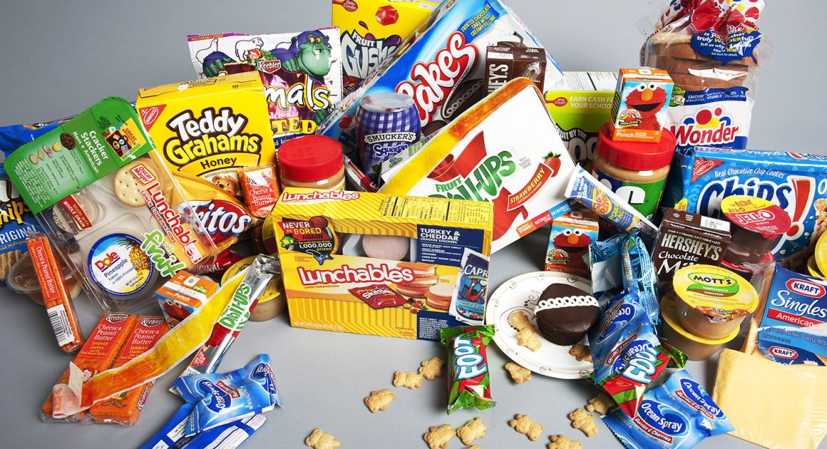 Various types of snacks are photographed for a quiz on healthy snacking for kids to run on the AOL Healthy Living site at AOL Huffington Post headquarters in New York on Wednesday Aug. 15, 2012. (Damon Dahlen, AOL)