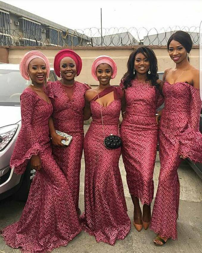 Check out these Latest Aso Ebi Styles Slayed Over The Weekend