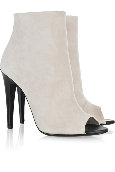 Shoegasm: We Love Us Some Open Toe Booties!