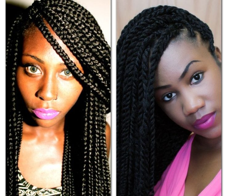 Stylish Ways To Style Your Box Braids
