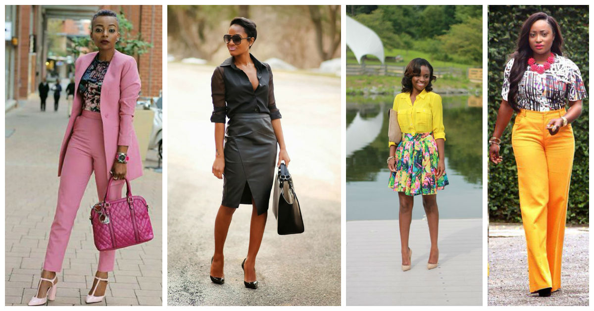The Best Of Corporate Fashion A Million Styles Africa