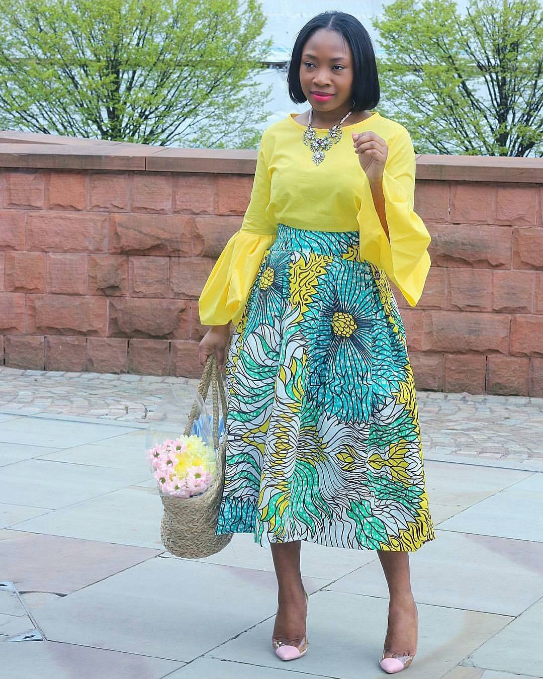 Latest Ankara Styles Instagram Feed Us Over The Weekend