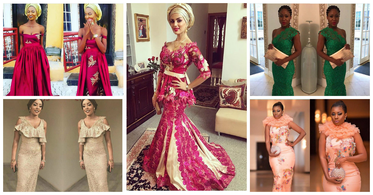 See pictures of Lit Mid Week Aso Ebi Styles Flooding The Gram.