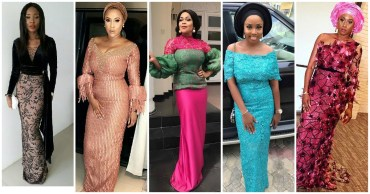 Check Out These Killah Aso Ebi Styles From The Weekend