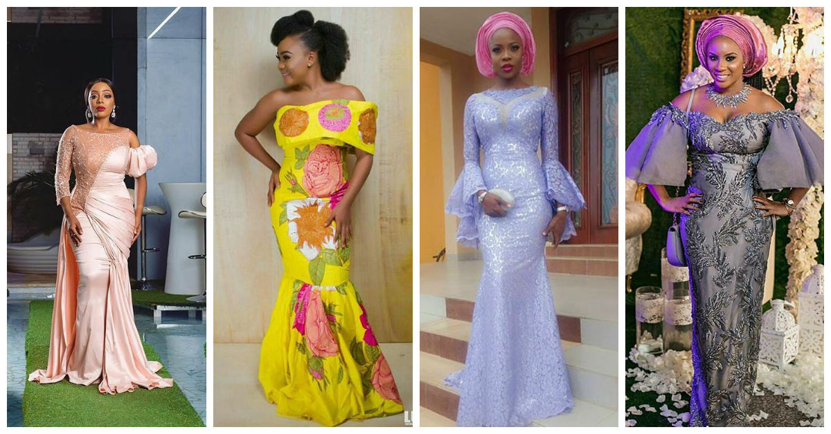 Gorgeous Asoebi Outfits For People Wey Sabi