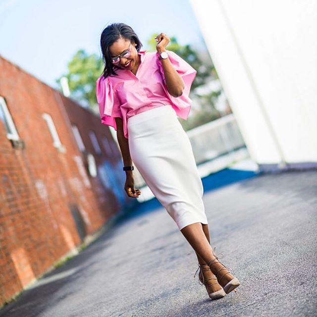 Get In Here Ladies! See How These Lovely Work Wear Were Rocked!