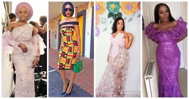 latest asoebi style we saw on April 2017
