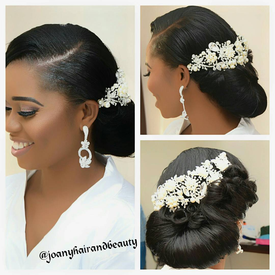 Get To Know Natural Hair Wedding Hairstyles 2017: Trending Bridal Hairstyles For Those In The Know