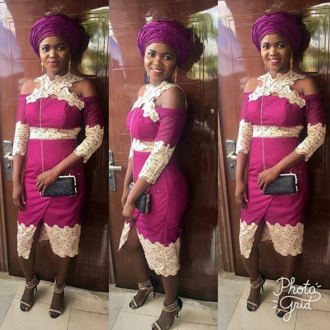 Need Trendy Lace Asoebi Styles? We Have You Covered!