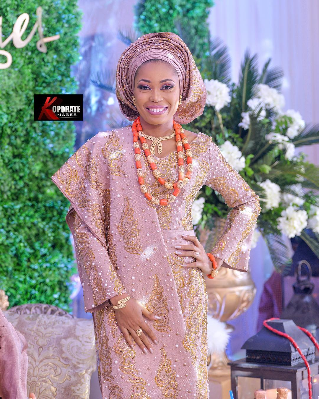 16 Non Traditional Wedding Dresses For The Modern Bride: Yoruba Brides Who Slayed At Their Traditional Wedding
