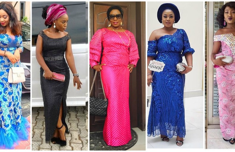 Latest Aso Ebi Styles To Dazzle In This Weekend