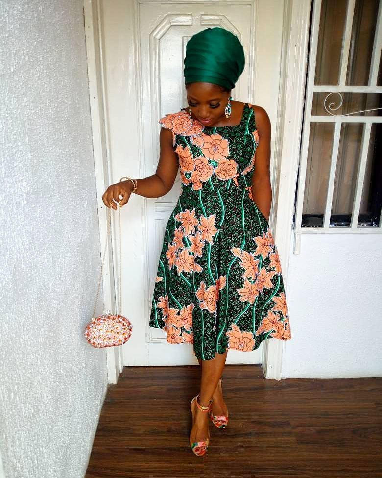 Beautiful Ankara Styles Perfect For Sunday Church Service.