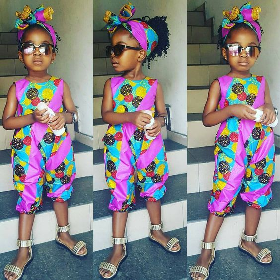 Check Out These Kids Ankara Styles - Adorable Aren't They?