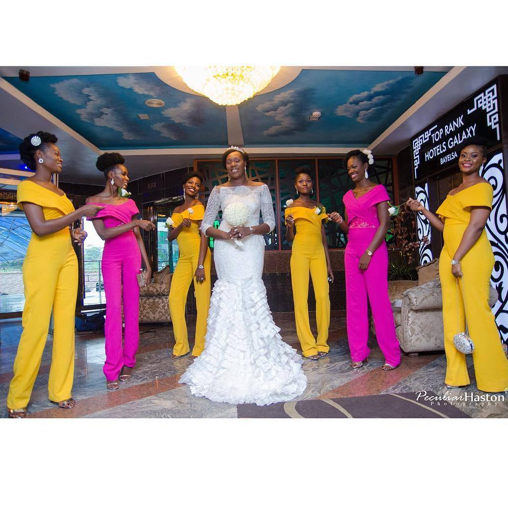 See These Bridesmaids Gowns For Your Girls