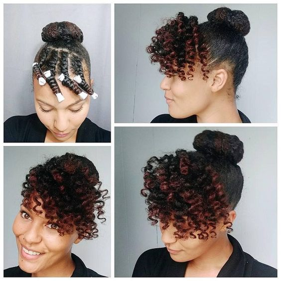 Spice Up Your Hair With These Natural Hairstyles | A Million Styles ...