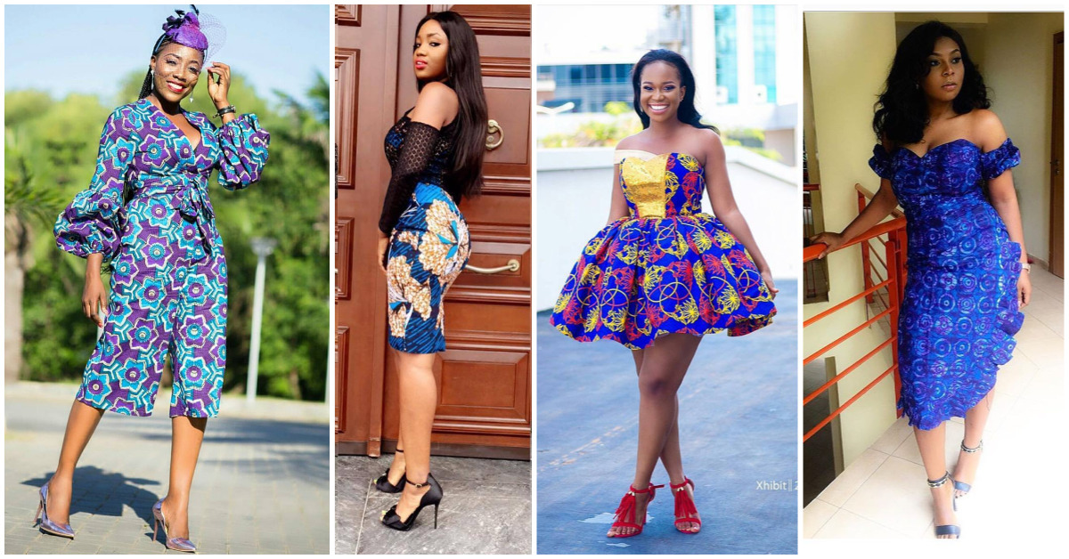 Here Are The Sweetest 2017 Short Ankara Gowns