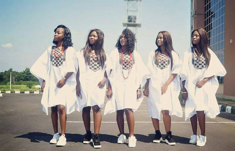 Believe us when we say,As A Fashionsta You Need To Join In On The Women Agbada Gang Style.