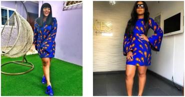 Rhonke Fella Or Jackie Appiah Who Rocked This Beautiful Ankara Dress Best?