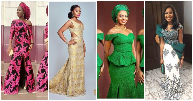 Sexy Aso Ebi Styles Getting Our Owambe Party Approval This Week