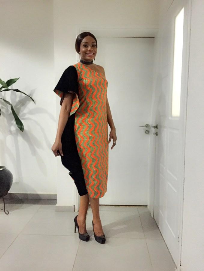 Velvet And Ankara Fabric Fashionistas Rocked Last Weekend