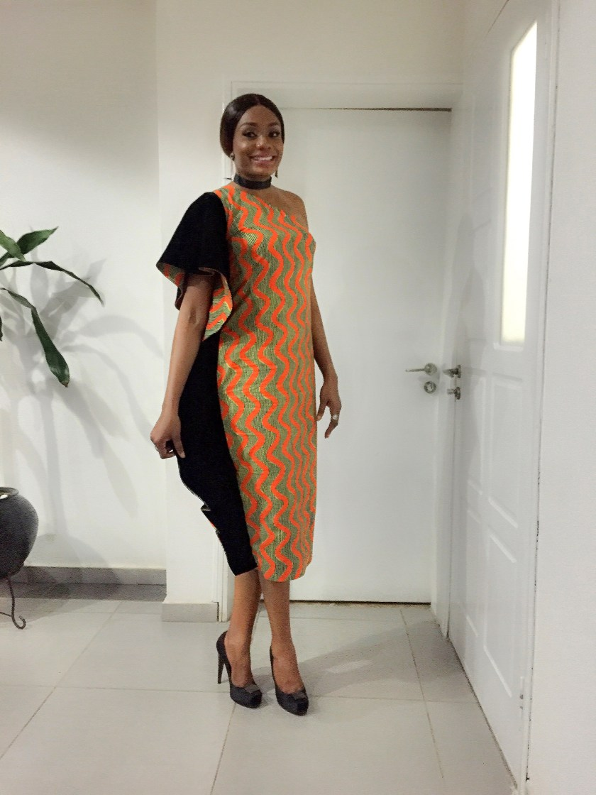Velvet And Ankara Fabric Fashionistas Rocked Last Weekend