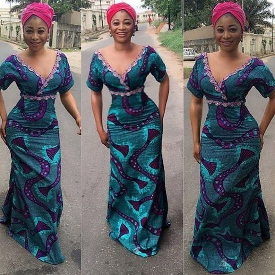 Try Out These Ankara Maxi Dresses Styles For The Weekend
